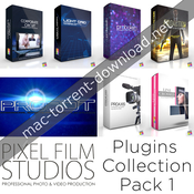 Pixel film studios plugins collection pack 1 for fcpx icon