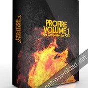 Pixel film studios profire volume 1 fire composites for fcpx icon