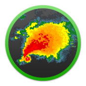 Radarscope display utility for weather enthusiasts and meteorologists icon