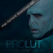 Prolut cinematic colour grading presets icon