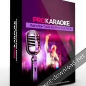 Pixel film studios prokaraoke karaoke tools for fcpx icon
