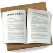 Create booklet icon