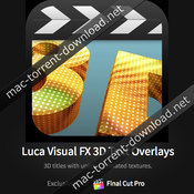Luca visualfx 3d text overlays icon