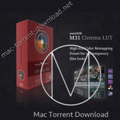 M31 and osiris cinema and film luts icon