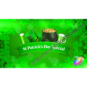 St patricks day special promo icon
