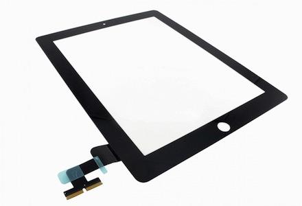 Jual Touch Screen Digitizer iPad 2 Black