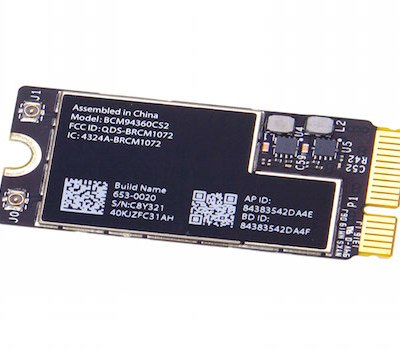 macbook wifi network card
