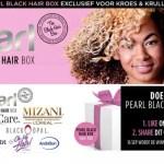 Pearl Black Hair Box: nieuwe box voor girls with curls