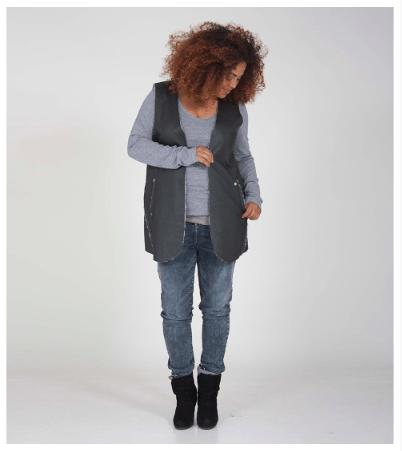Macblogster als model voor fotoshoot Stylist Dyanne Beekman