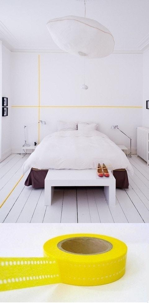 Je huis versieren met Washi Tape
