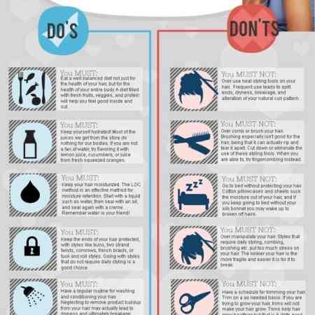 Do's & dont's verzorging krullen en kroeshaar