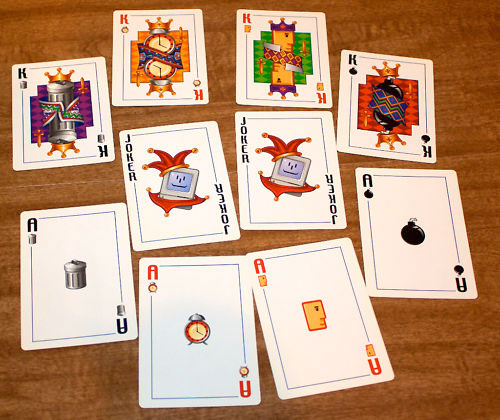 Vintage Apple Playing Cards