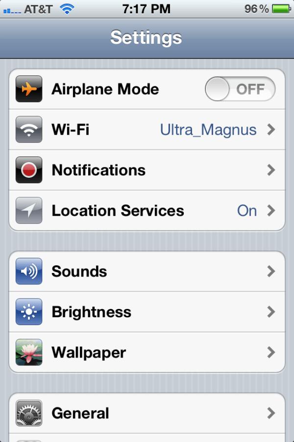 iPhone OTA update 01