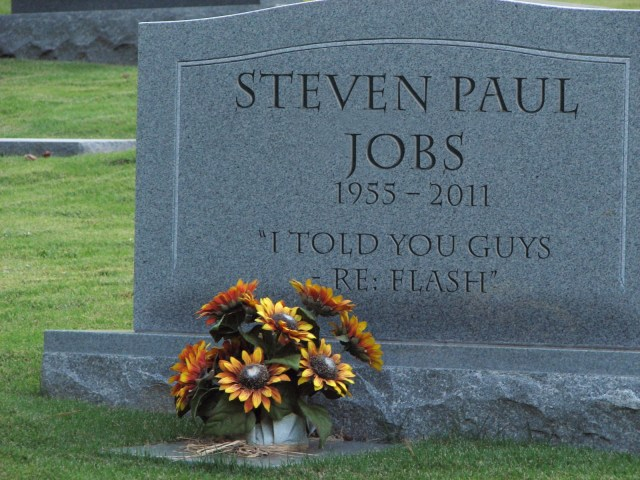 Steve Jobs Tombstone