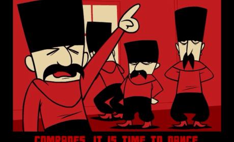 Russian Dancing Men 00