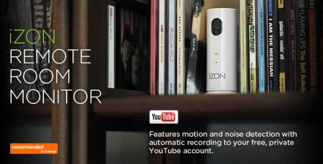 izon iPhone security camera