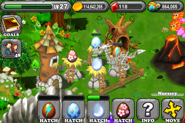 DragonVale MOON Dragon Egg