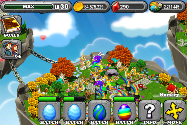 DragonVale RAINBOW Dragon Egg