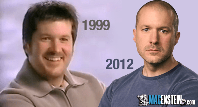 Jonny Ive with Hair