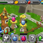 DragonVale QUICKSILVER Dragon Egg