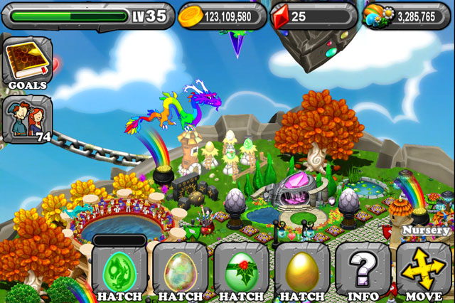The 1st Egg is the DragonVale Ghost Dragon Egg