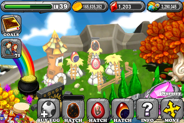 DragonVale Lunar Eclipse Dragon Egg