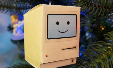 Paper Craft Happy Mac
