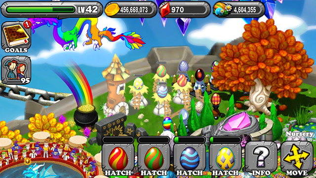 The 1st egg is the DragonVale Pepper Dragon Egg