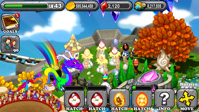 Dragonvale Cotton Dragon Egg