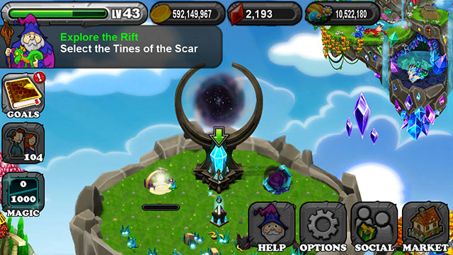 dragonvale light and dark dragon rift