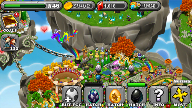 DragonVale Cave Dragon Egg