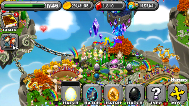 DragonVale Glare Dragon Egg