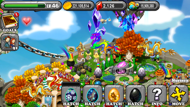 The 1st Egg is the Dragonvale Crypt Dragon Egg