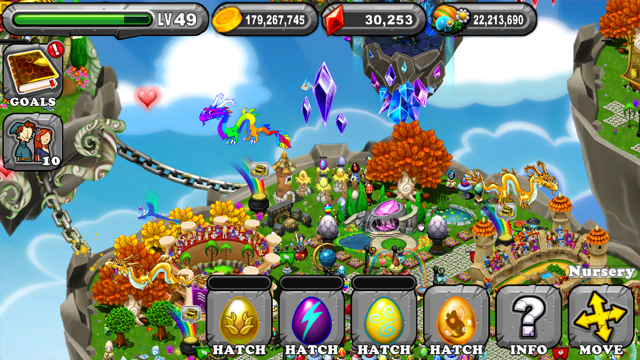 Dragonvale Victory Dragon Egg