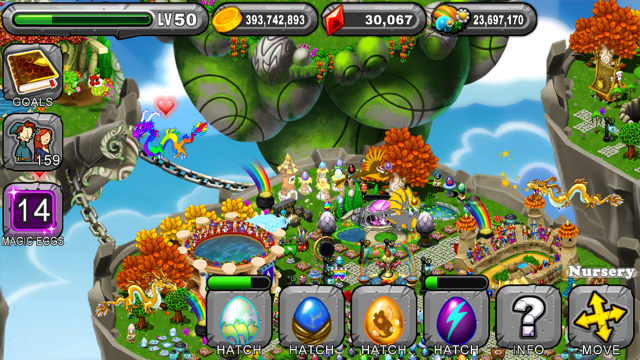 Dragonvale Ovalith Dragon Egg