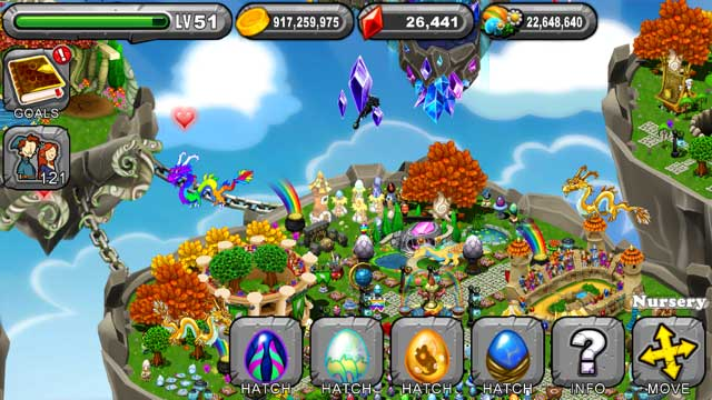 Dragonvale Dream Dragon Egg