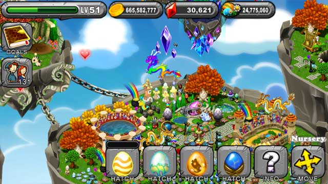Dragonvale Nectar Dragon Egg