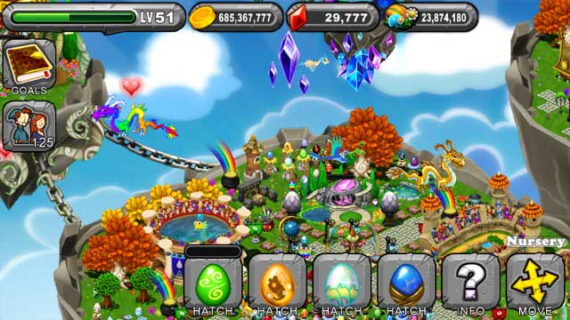 Dragonvale Orchid Dragon Egg