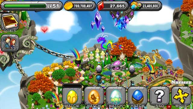 Dragonvale Wisp Dragon Egg