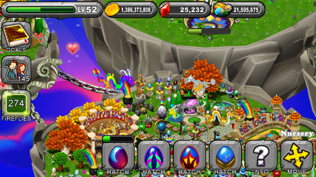 DragonVale Dusk Dragon Egg