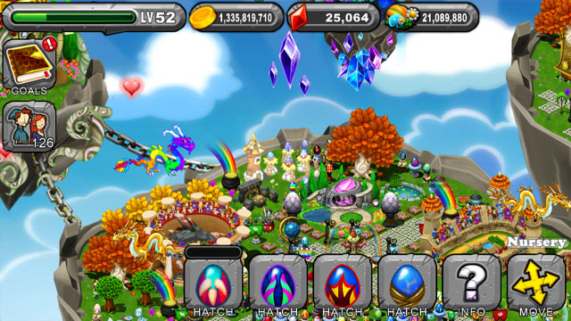 DragonVale Hydra dragon Egg