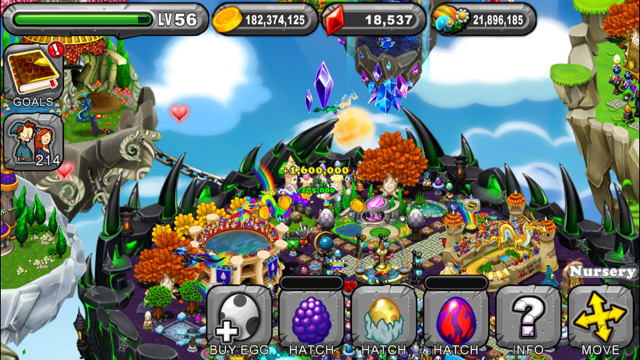 DragonVale Berry Dragon Egg