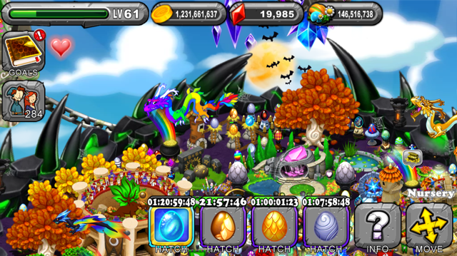DragonVale Sorarian Dragon Egg