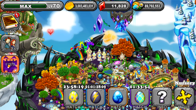 DragonVale Sanguinite Dragon Egg