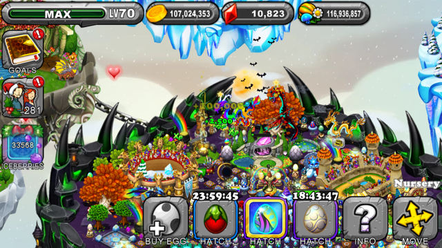 Dragonvale Holly Dragon Egg
