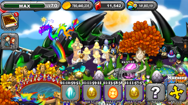 The Dragonvale Brite Dragon Egg