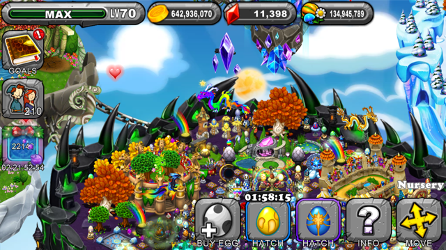 Dragonvale Dazzling Dragon Egg