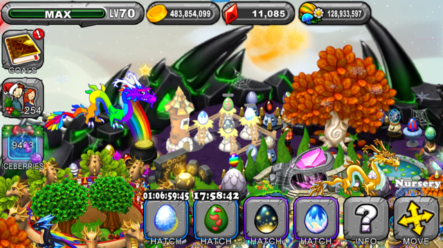 Dragonvale Neoteric Dragon Egg