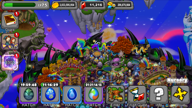 DragonVale Fates Dragon Egg
