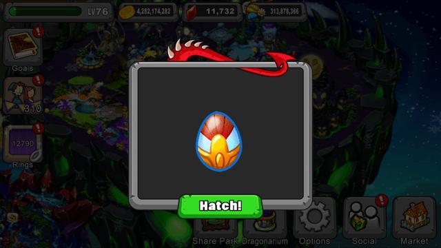 DragonVale Valor Dragon Egg
